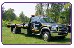 Castle Towing Flat Bed Trucks